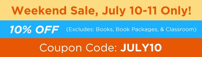 Real Estate Training Institute July Weekend Sale Mobile